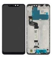 Display (LCD + Touch) + Frame für Xiaomi Redmi Note 6 Pro - black
