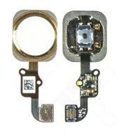 Home Button + Flex für Apple iPhone 6, 6 Plus - gold