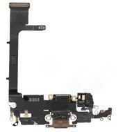Charging Port + Flex + Interconnect Board für A2215 Apple iPhone 11 Pro - gold