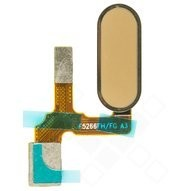 Finger Print Sensor + Flex für STF-L09 Honor 9, STF-L19 Honor 9 Premium - gold