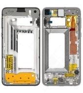 Main Frame für G970F Samsung Galaxy S10e - prism white