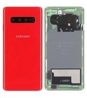 Battery Cover für G973F Samsung Galaxy S10 - cardinal red