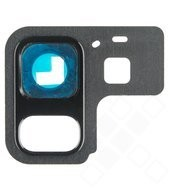 Main Camera Lens Cover für A530F, A530F/DS Samsung Galaxy A8 (2018) - black