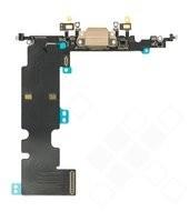 Charging Port + Microphone + Flex für Apple iPhone 8 Plus - gold
