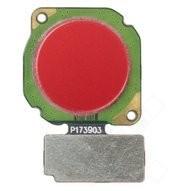 Fingerprint + Flex für (RNE-L01), (RNE-L21) Huawei Mate 10 Lite - red