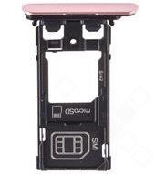 SIM / SD Tray dark pink für Sony Xperia XZ Dual F8332