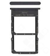 SIM Tray für JNY-L21A Huawei P40 Lite - midnight black
