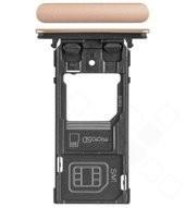 SIM Tray für H8324 Sony Xperia XZ2 Compact Dual - coral pink