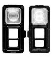 Flash Lens für G950F, G955F Samsung Galaxy S8, S8+ - midnight black