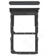 SIM Tray für Huawei P40 Lite 5G - midnight black