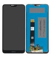 LCD + Touch für TA-1095, TA-1100 Nokia 7.1 - black