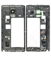 Middle Cover / Mainframe black für Samsung N915F Note Edge