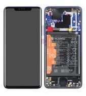 Display (LCD + Touch) + Frame + Battery für LYA-L09, LYA-L0C Huawei Mate 20 Pro - twillight