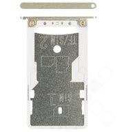SIM / SD Tray für Xiaomi Redmi Note 4, Note 4X - gold
