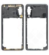 Rear Frame für A750F Samsung Galaxy A7 (2018) - black