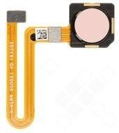 Fingerprint Sensor + Flex für TA-1150, TA-1157 Nokia 4.2 - pink sand