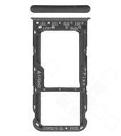 SIM Tray für (FIG-L31) Huawei P Smart - black