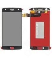 LCD + Touch für XT1900-5 Motorola Moto X4 Dual - super black