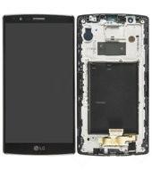 Display (LCD + Touch) + Frame für H815 LG G4 - black