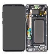 LCD + Touch für G955F Samsung Galaxy S8+ - midnight black