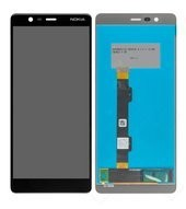 LCD + Touch für TA-1061, TA-1075 Nokia 5.1 - black