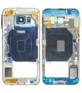 Rear Cover / Mainframe für G920F Samsung Galaxy S6 - black