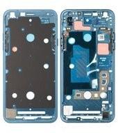 LCD Frame für (LMQ610) LG Q7 - moroccan blue