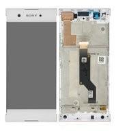 LCD + Touch + Frame für G3121, G3125, G3112, G3116 Sony Xperia XA1- white