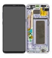 LCD + Touch für G955F Samsung Galaxy S8+ - orchid grey