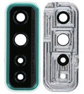 Camera Lens + Bezel für Huawei P40 Lite 5G - crush green