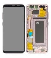 Display (LCD + Touch) für G950F Samsung Galaxy S8 - rose pink