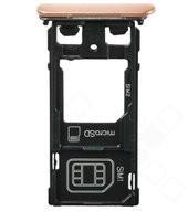 Sim + SD tray pink für Sony Xperia X F5122