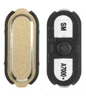 Home Button gold für Samsung Galaxy A7