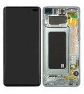 Display (LCD + Touch) + Frame für G975F Samsung Galaxy S10+ - prism green