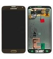 LCD + Touch für G900F Samsung Galaxy S5, S5 Plus - Gold