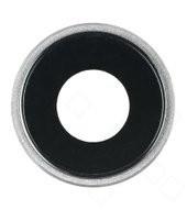 Camera Lens + Bezel für Apple iPhone XR - silver