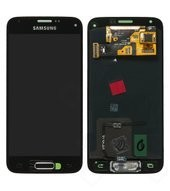 LCD + Touch für G800F Samsung Galaxy S5 mini - black