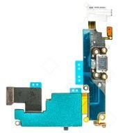 Charging Port + Audio Jack + Microphone + Flex für Apple iPhone 6 Plus - white