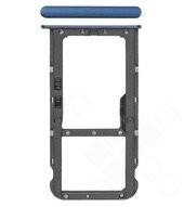 SIM / SD Tray für BND-L21 Huawei Honor 7X - blue