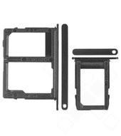 SIM / SD Tray für J600F/DS Samsung Galaxy J6 Duos - black