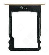 MicroSD holder gold für Huawei P8 Lite