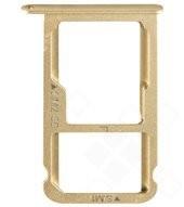 SIM Tray gold für Huawei P9