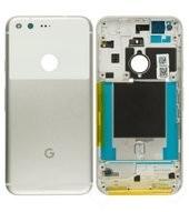 Battery Cover für Google Pixel - white silver