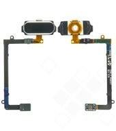 Home button für G925F Samsung Galaxy S6 Edge - black