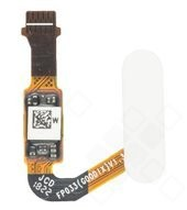 Fingerprint Sensor + Flex für (EML-L09), (L29) Huawei P20 - white