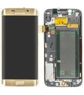 LCD + Touch für G925F Samsung Galaxy S6 Edge - gold