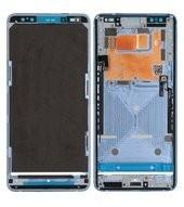 LCD Frame für HTC U12+ - translucent blue