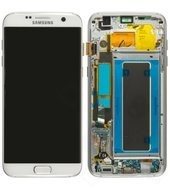 LCD + Touch für G935F Samsung Galaxy S7 Edge - white