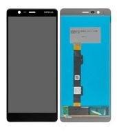 Display (LCD + Touch) für TA-1061, TA-1075 Nokia 5.1 - black