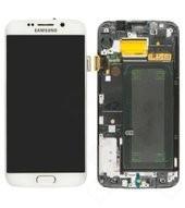 LCD + Touch für G925F Samsung Galaxy S6 Edge - white